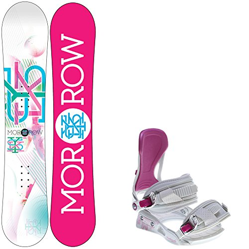 fbf3e6a67dc Morrow Sky 148 Womens Snowboard + Avalanche Serenity Bindings ...