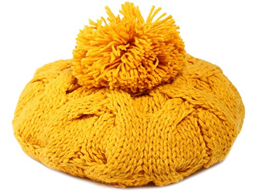 cf22c20592bb4 Simplicity Women s Winter season Knitted Ski Snowboard Yellow Beanies Cap.  Return to Previous Page. lightbox